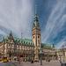 Hamburg City Hall - Rathaus (270°)
