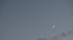 Venus and Moon