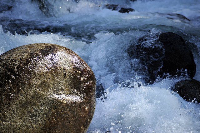 Rock and Rapids, Little Susitna River, Alaska
