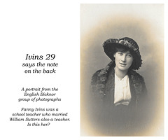 Ivins 29 - Fanny perhaps - English Bicknor group