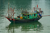 Fishing Vessels in Halong Bay