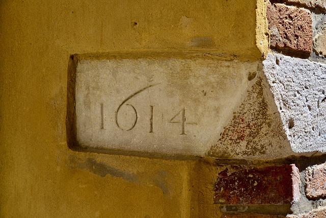 Urbino 2017 – Corner stone of 1614