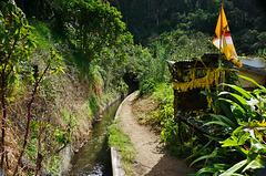Wanderweg entlang der Levada do Tornos - Trail along the Levada do Tornos