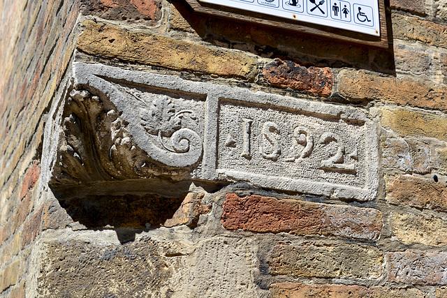 Urbino 2017 – Corner stone of 1592