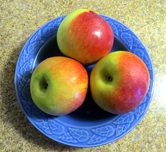 Locally grown 'Empire' apples