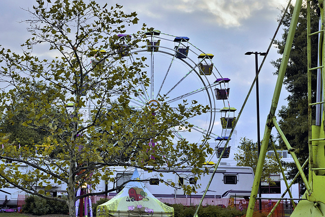 The Ferris Wheel at Dusk – Labor Day Festival, Greenbelt, Maryland