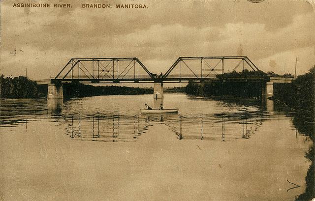 6224. Assiniboine River. Brandon, Manitoba.