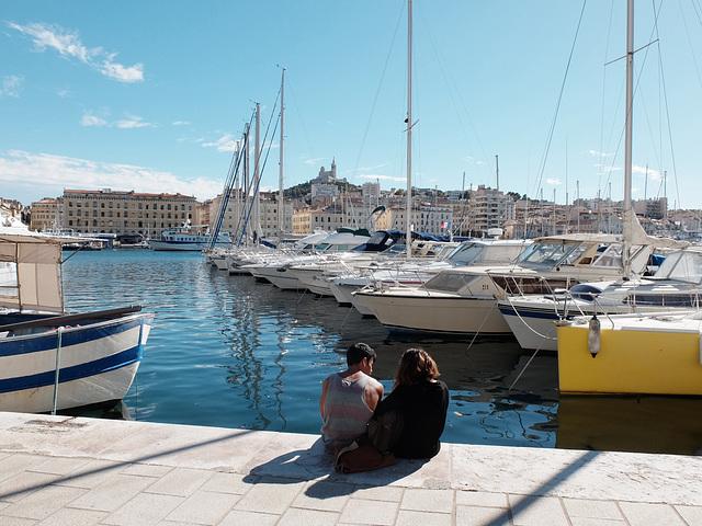 Marseille le Vieux Port