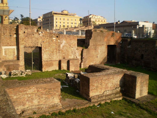 Ruins of Baths of Diocletian.