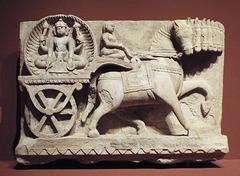 Surya Relief in the Virginia Museum of Fine Arts, June 2018