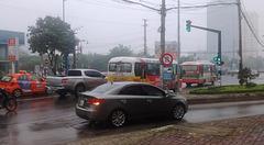 Circulation pluvieuse / Rainy traffic