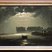 North Cape by Moonlight by Peder Balke in the Metropolitan Museum of Art, Feb. 2020
