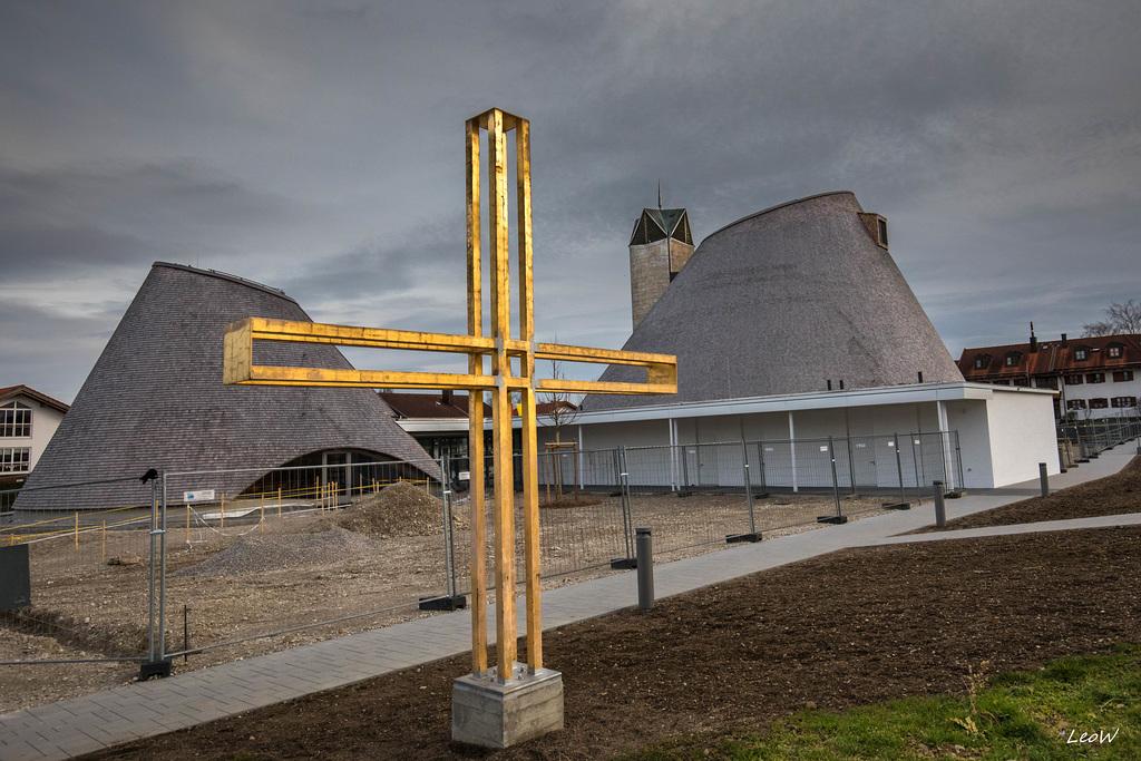 Holzkirchen - St. Josef - built /erbaut 2018