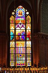 Altentreptow, Kirchenfenster