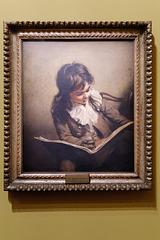 """Garçon lisant"" (Ramsay Richard Reinagle - vers 1795)"