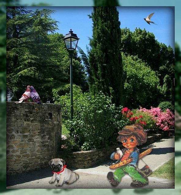 En déconfinement, Titi est parti en vacances dans la Drôme*****