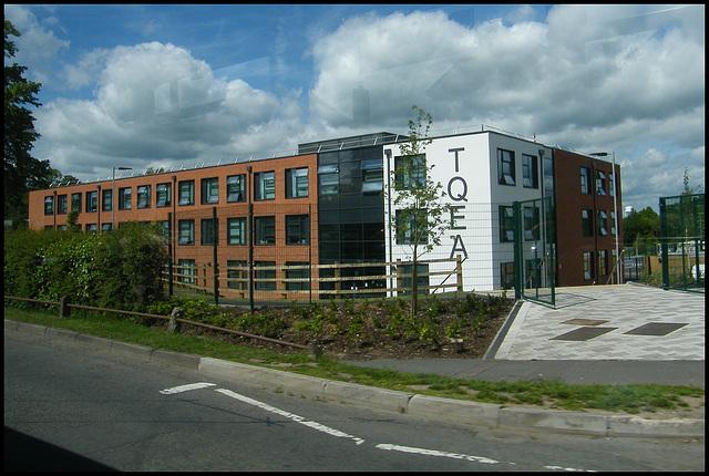 school that looks like a factory
