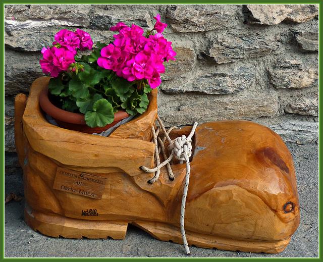 Rochemolles : Vecchio scarpone - (844)