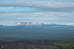 Cascade Mountain Range: South, Middle, North Sister & Broken Top