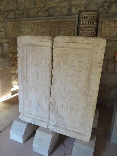 Musée archéologique de Split :
