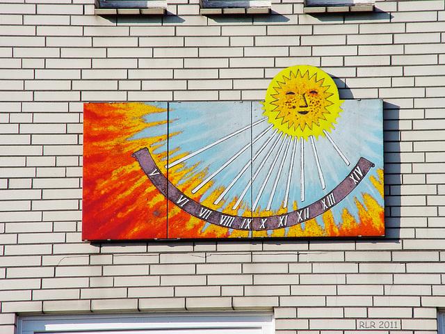 Sonnenuhr in Kaltenkirchen