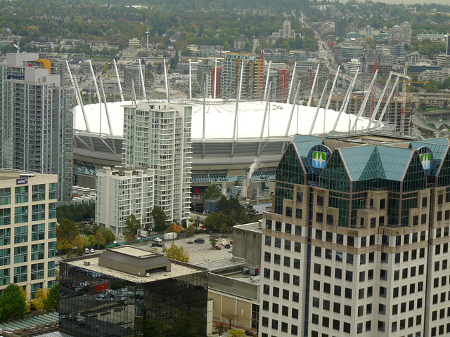 Yaletown and BC Place