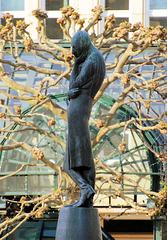 IP/PA Treffen-Nachlese: Heinrich Heine Denkmal auf dem Rathausmarkt/ Hamburg