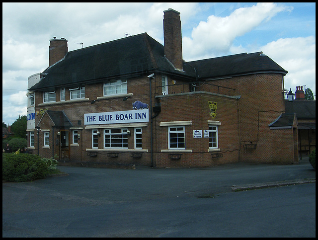 The Blue Boar at Mancetter