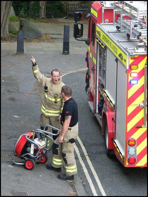 Oxfordshire firemen