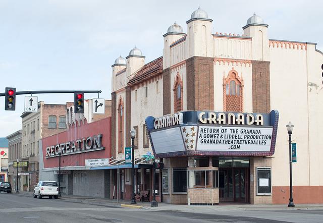 The Dalles Granada theater (#0266)