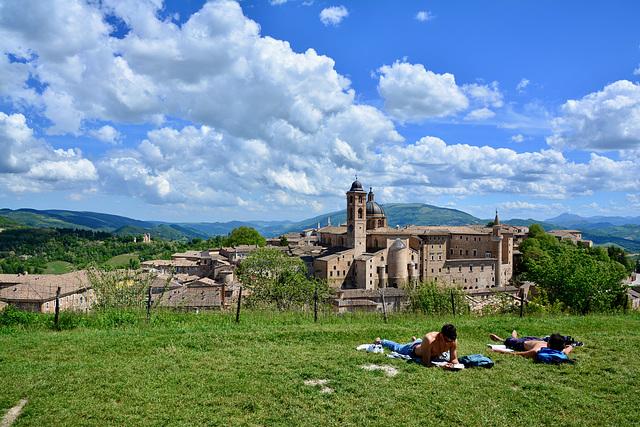 Urbino 2017 – Riposo at the Fortezza di Albornoz