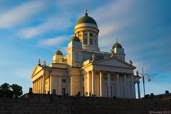 abends beim Dom von Helsinki - P.i.P. (© Buelipix)