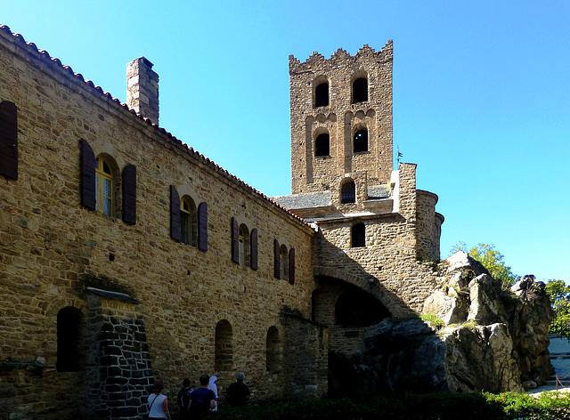 FR - Casteil - Abbaye Saint-Martin du Canigou