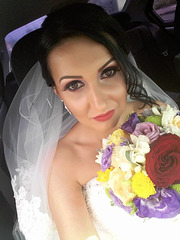 selfie bride!