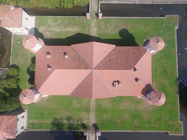 Marmirolo, castello della fontana. Mantova - Italia