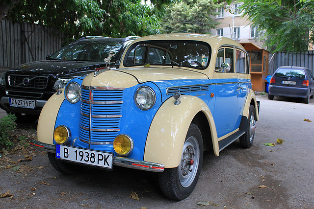 Beautiful Russian Moskvich produced in 1938