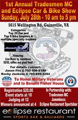 11x17 Poster - Tradesmen Car & Bike  show 7-28-2019