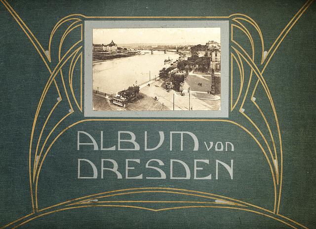 Album von Dresden, Einband