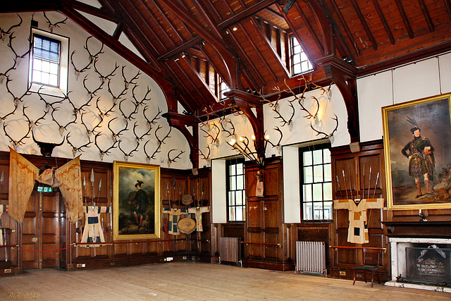 Blair Castle, the Ballroom