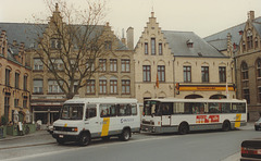 De Lijn contractor - Gruson Autobus in Poperinge - 25 Apr 1997