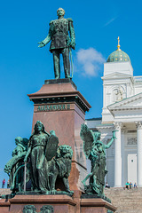 auf dem Senatsplatz Helsinki - P.i.P. (© Buelipix)