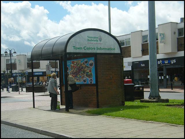 Nuneaton bus shelter