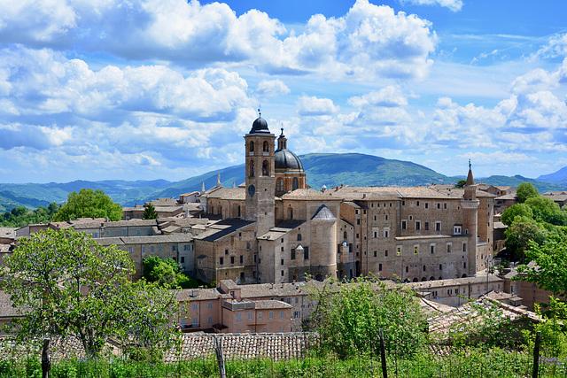 Urbino 2017 – View of the city from the Fortezza di Albornoz