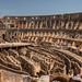 Dall'interno del Colosseo