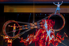 Chinese Performance and ring acrobatic