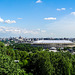 Moscow panoramic view (PiP)