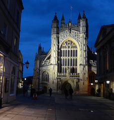 Let a king build Bath cathedral