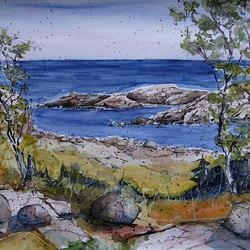 5.2 Bornholm Küste bei Svaneke.