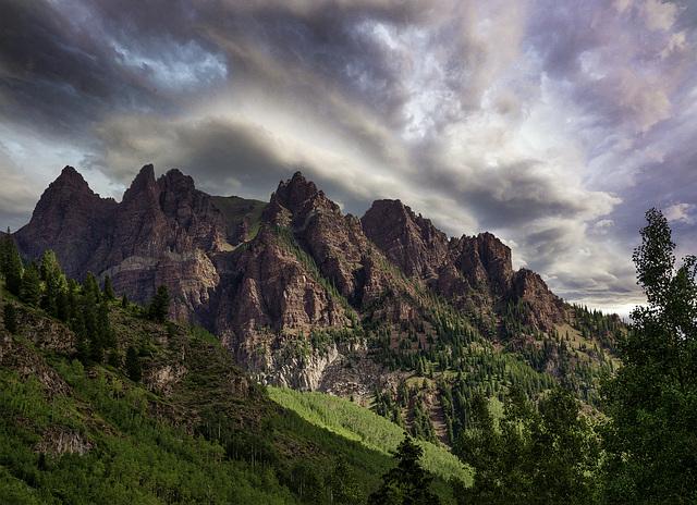Sievers Mountain Maroon Bells Snowmass Wilderness