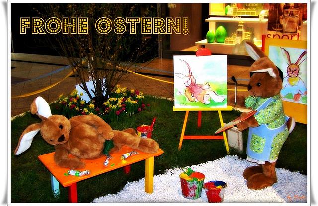 ✿ ❀ ✿ Frohe Ostern! - Happy Easter! - Joyeuses Pâques! - Buona Pasqua! - ¡Felices Pascuas! - С праздником Пасхи! - Καλό Πάσχα! ✿ ❀ ✿
